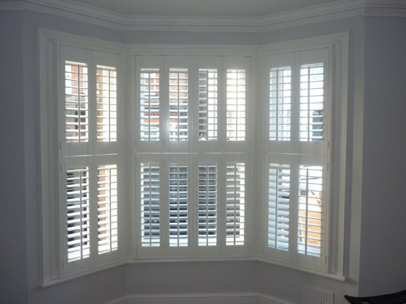 Shutters for bay windows bay window shutters stylish for Window shutters