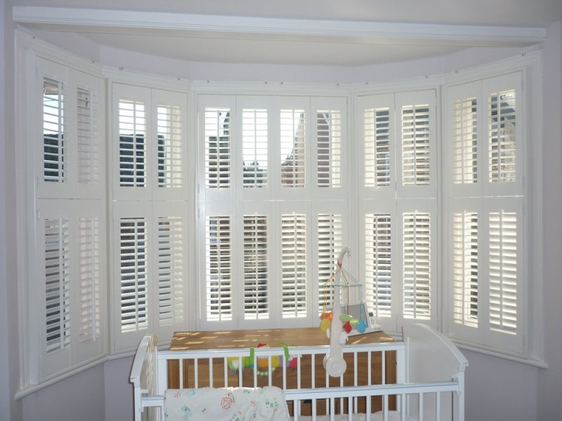 Inside Shutters 2017 Grasscloth Wallpaper