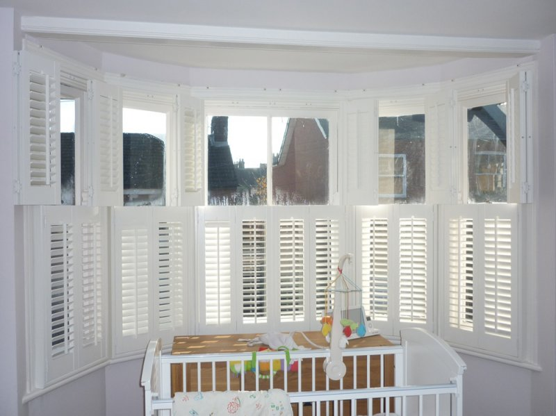 Shutters for Bay Windows | Bay Window Shutters | Stylish Shutters ...
