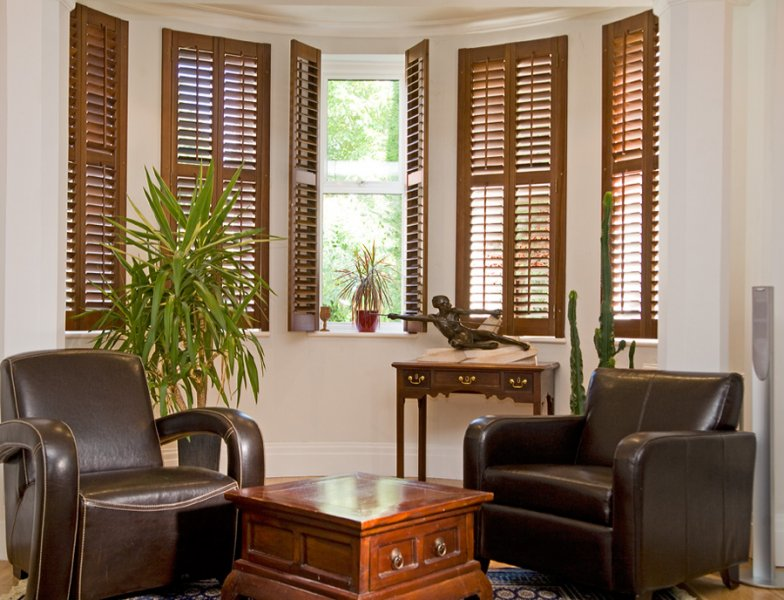 Full Height Shutters with Midrail