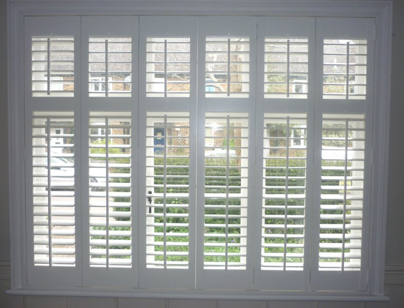 White Plantation Shutters Hertfordshire