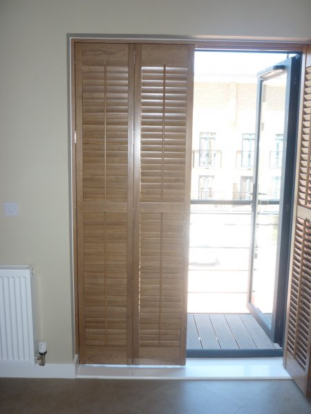 Shutters For French Windows And Patio Doors Interior
