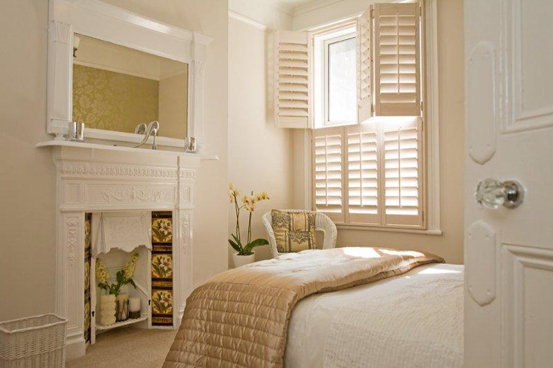 Window interior shutters