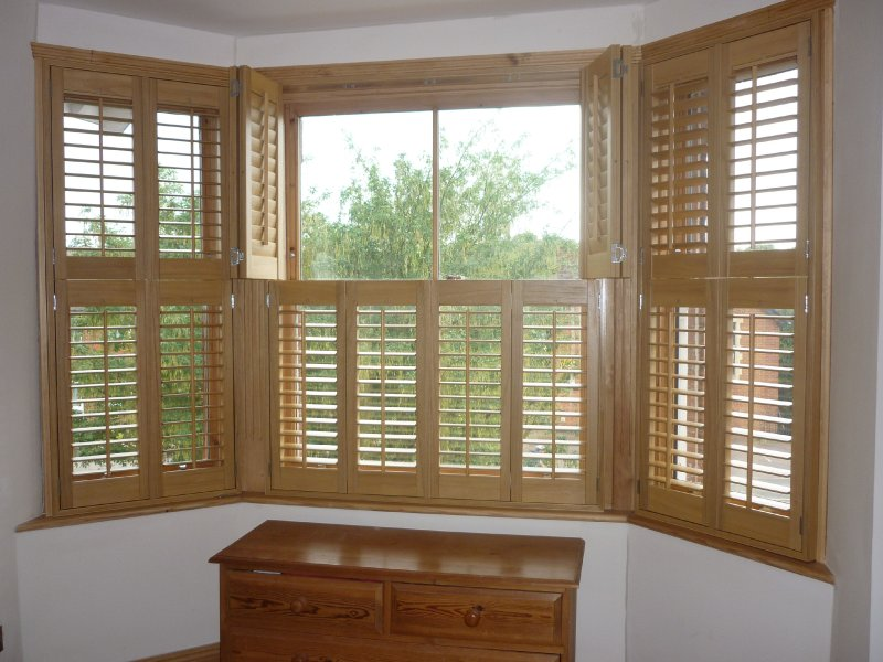 Tier on Tier Window Shutters | Interior Shutters | Wood ...