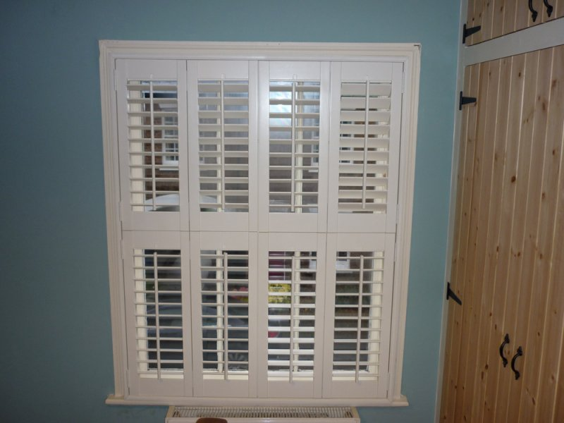 Indoor Window Shutters 2017 Grasscloth Wallpaper