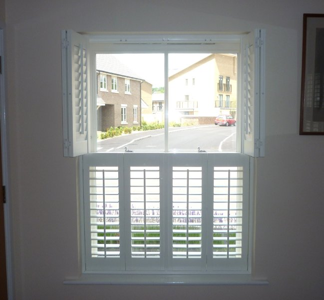 White Window Shutters Interior Cool Interior Plantation